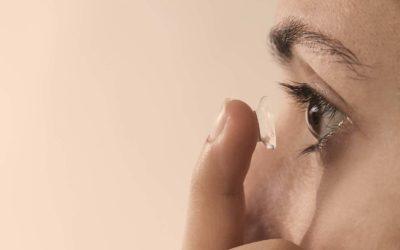 Coronavirus: manutenzione delle lenti a contatto